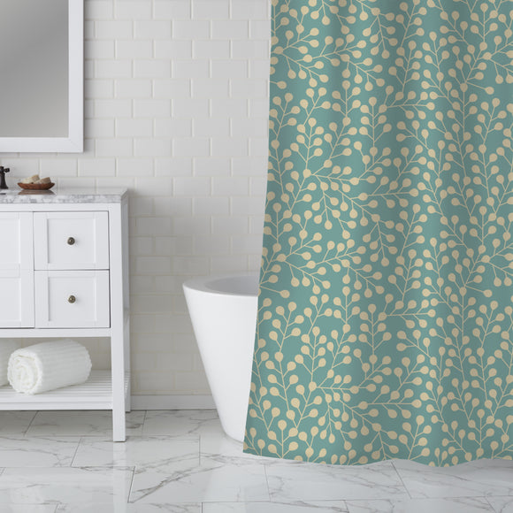 Cool Branches Shower Curtain