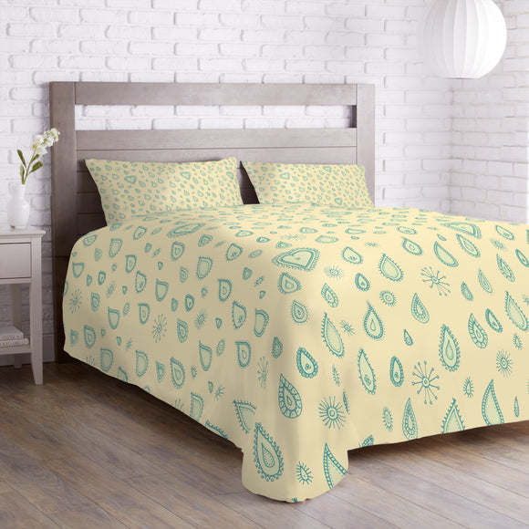 Yellow Summer Rain Duvet
