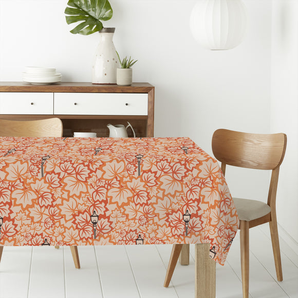 A Night In Autumn Rectangle Tablecloths