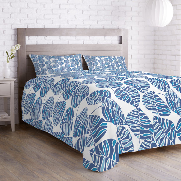 Waves Of The Leaves Duvet