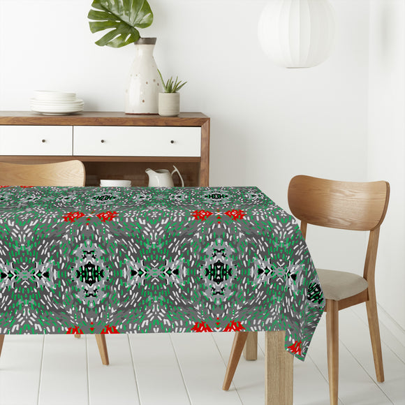 Red accents Rectangle Tablecloths