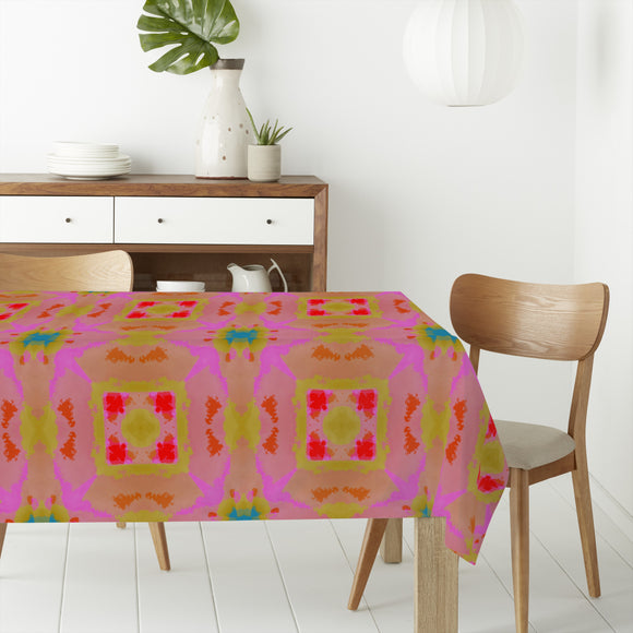 Summer Batik Rectangle Tablecloths