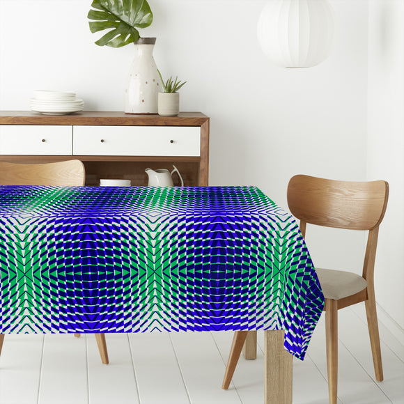 System Blues Rectangle Tablecloths