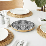 Black and White Pop Lazy Susan