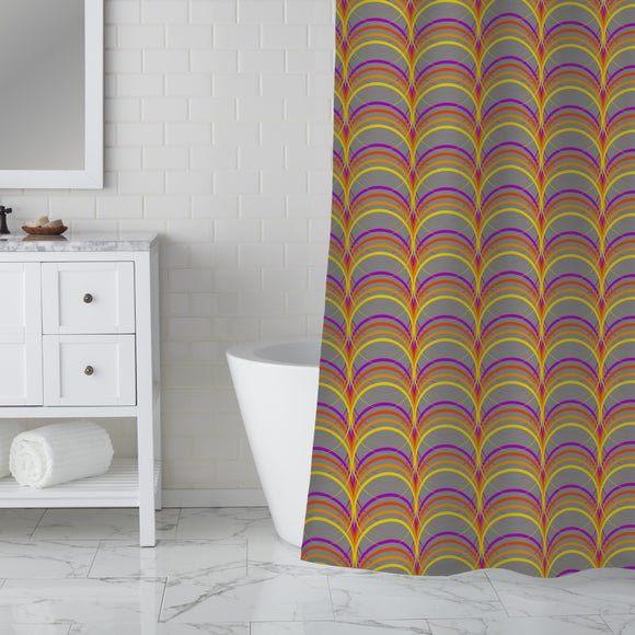 Colorama Shower Curtain