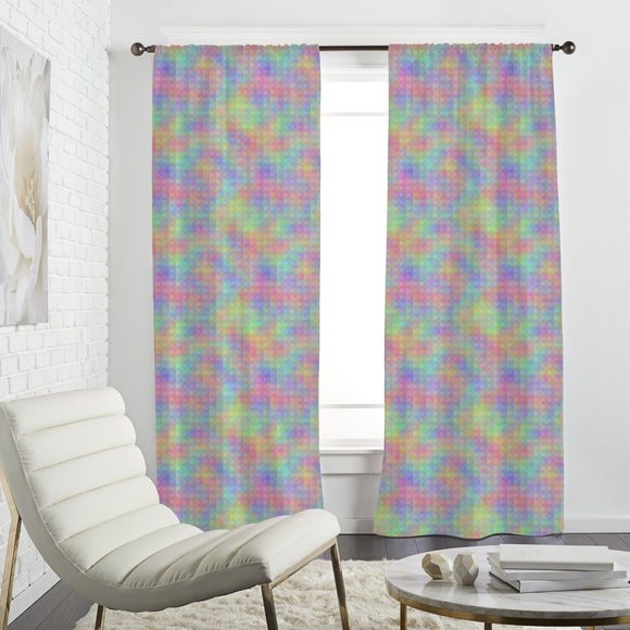 Rainbow Impressions Curtains