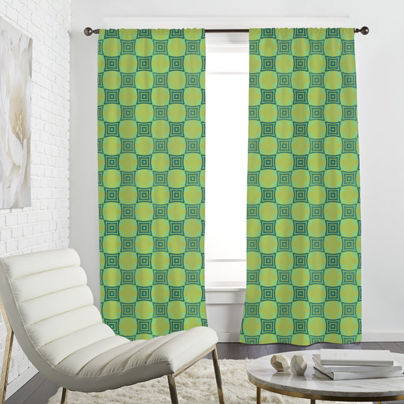 Patricks Chessboard Curtains