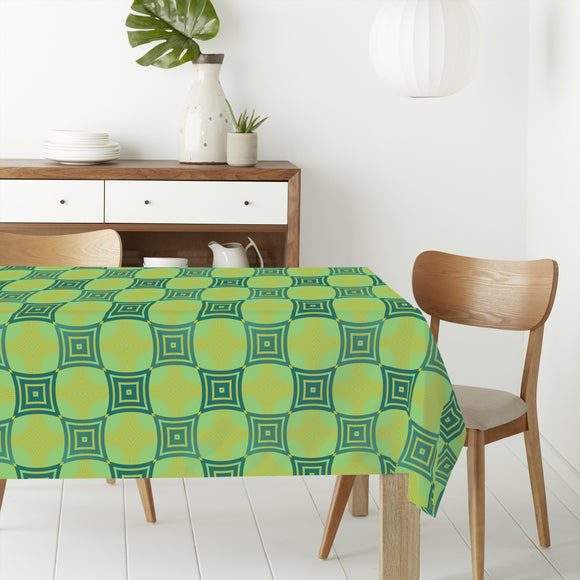 Patricks Chessboard Rectangle Tablecloths