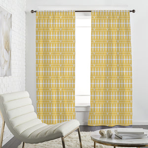Balconia Yellow Curtains