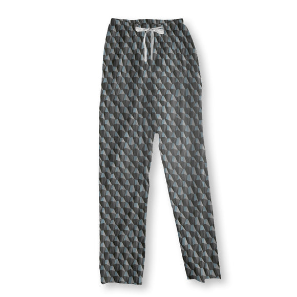 Geometric Steep Uphill Pajama Pants