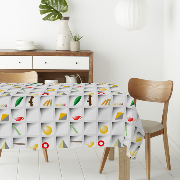 Lettercase Rectangle Tablecloths