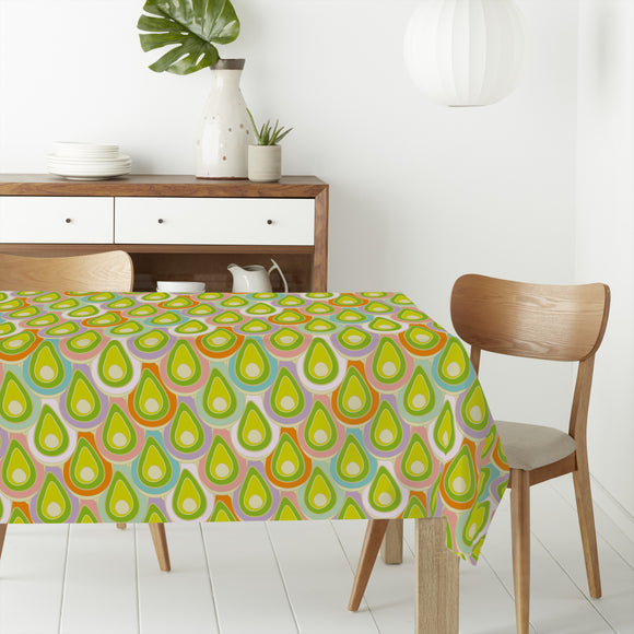 Abstract Scales Rectangle Tablecloths