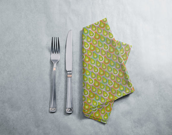 Abstract Scales Napkins