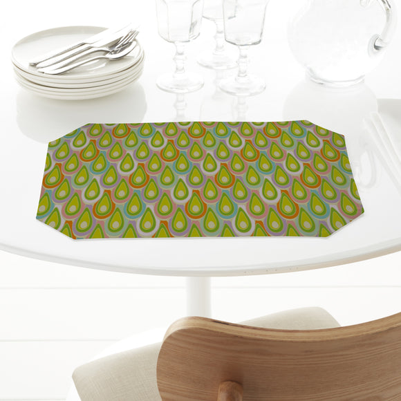 Abstract Scales Placemats