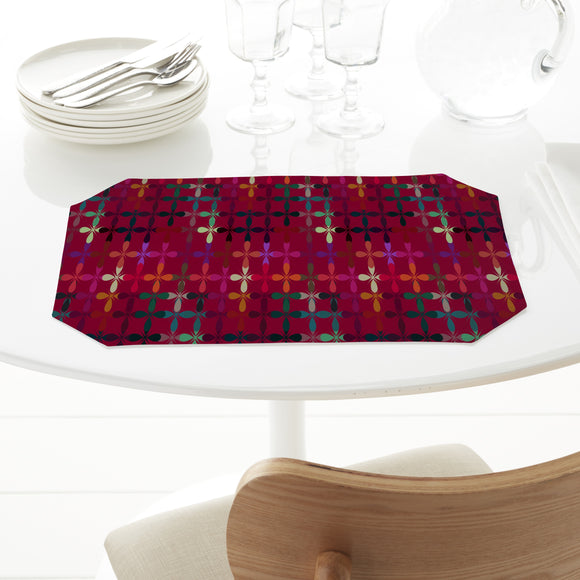 Abstract Flowerbed Placemats