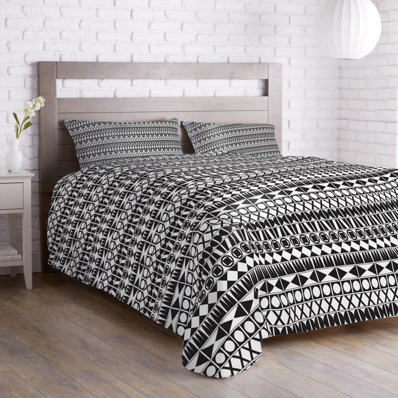 Tribal Monochrome Duvet