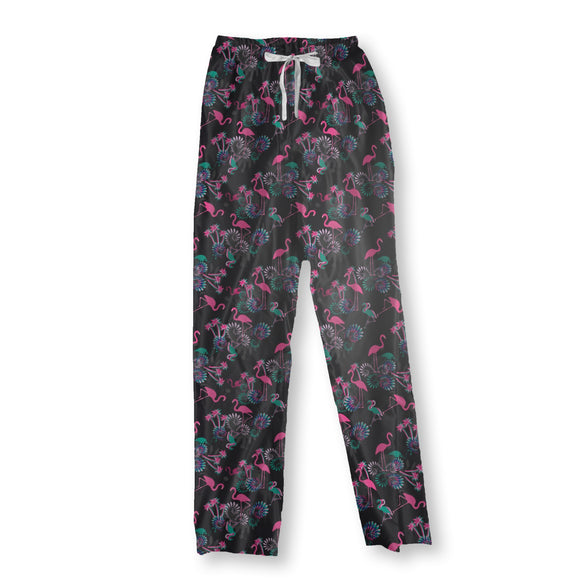 Miami Nights Flamingo Pajama Pants