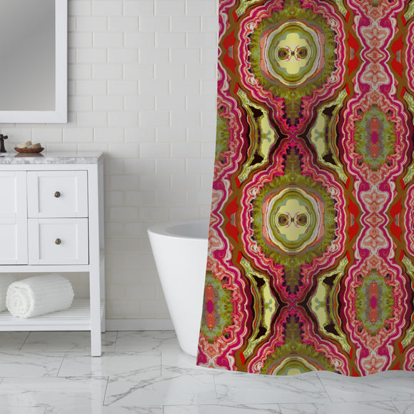 India Express Shower Curtain
