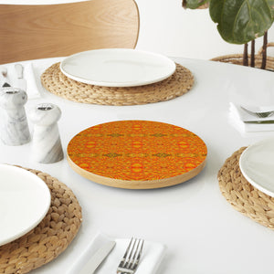 Fire And Flame Lazy Susan