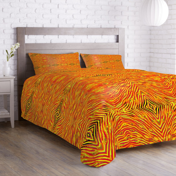 Fire And Flame Duvet