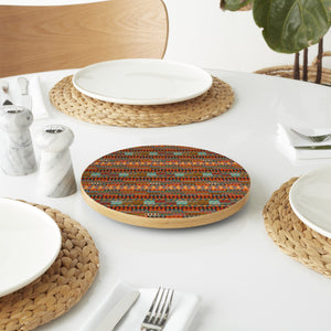 Ethno Stripes Lazy Susan