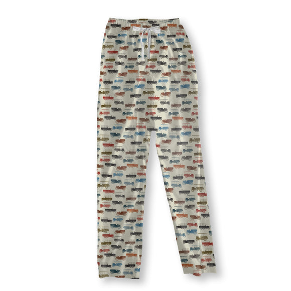 Vintage Cars Pajama Pants