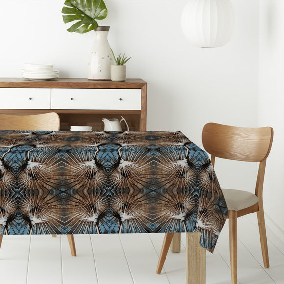 Abstract Bond Rectangle Tablecloths