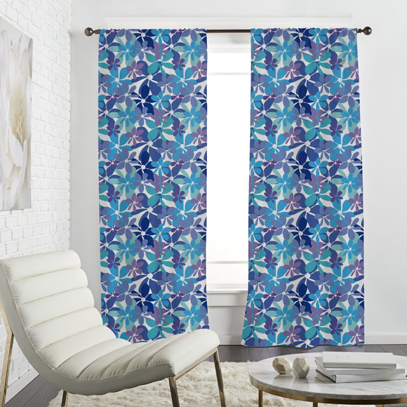 Explosion Floral Curtains