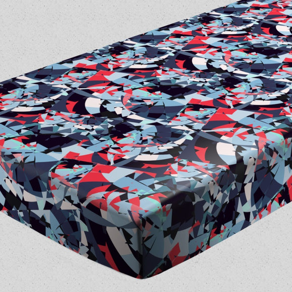 Ocean Of Broken Glass Fitted Sheets