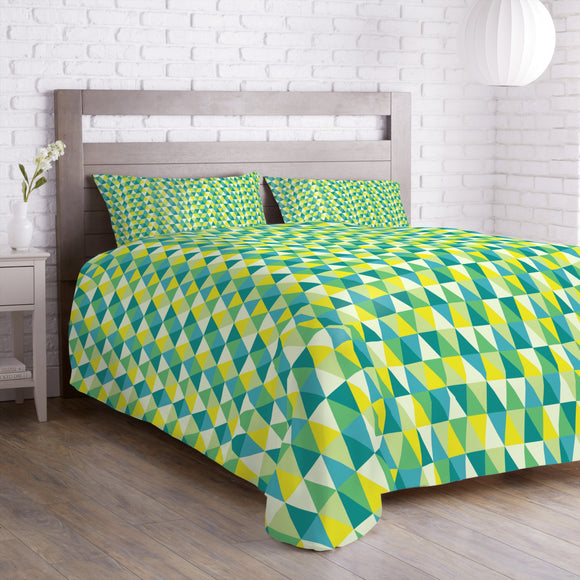 Triangles Upside Down Duvet