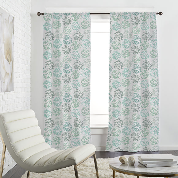 Coral Spring Curtains