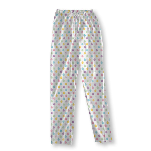 Blueberry Cupcakes Pajama Pants