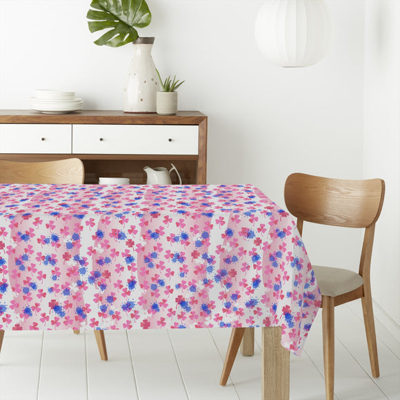 Shamrock Girl Rectangle Tablecloths