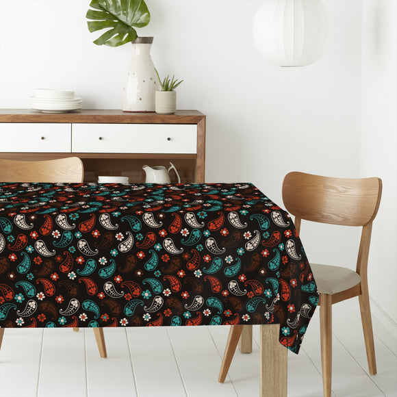 Autumn Of Paisley Rectangle Tablecloths