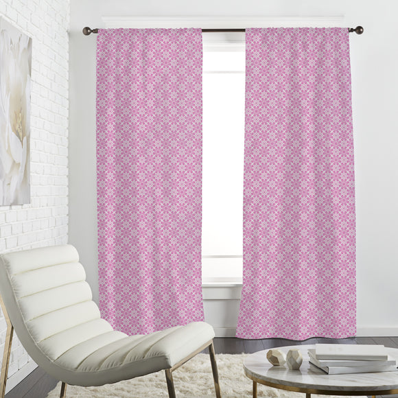 Floral Crystal Curtains