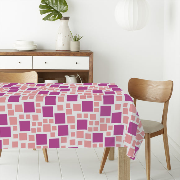 Random Box Rectangle Tablecloths