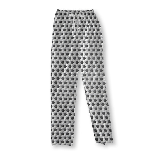 Hexagon Honeycomb Pajama Pants