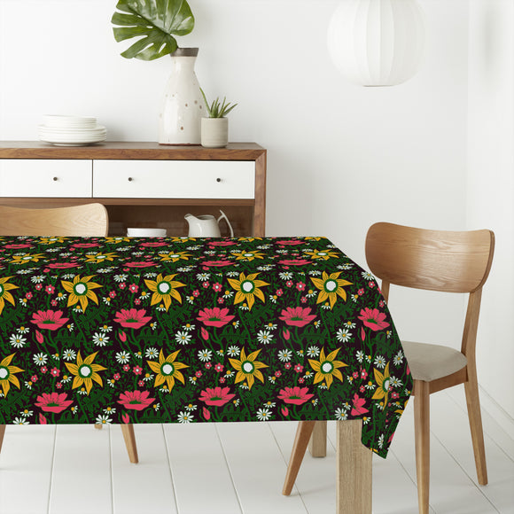 Alpine Magic Garden Rectangle Tablecloths