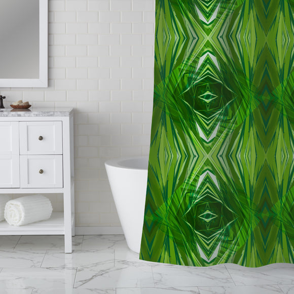 Crystal Jungle Shower Curtain