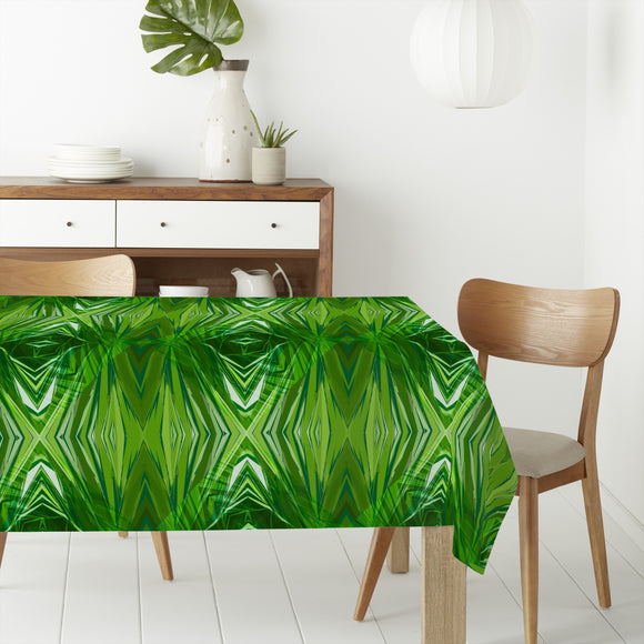 Crystal Jungle Rectangle Tablecloths