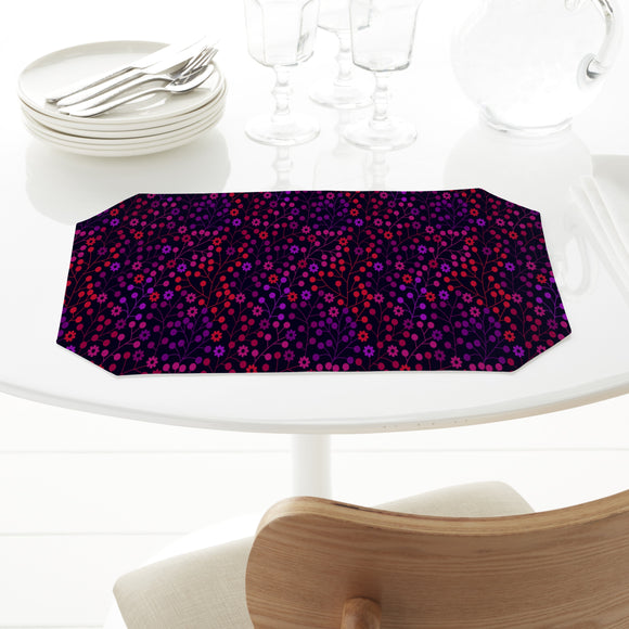 At Night In The Berry Wood Placemats