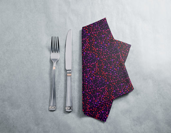 At Night In The Berry Wood Napkins