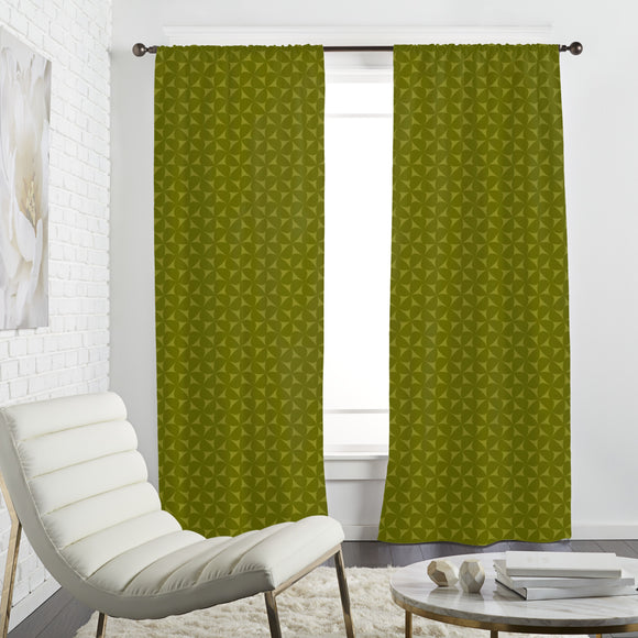 Floral Windmills Curtains