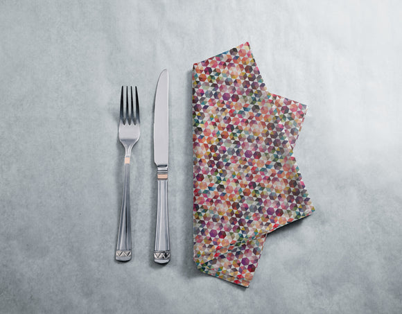 Hexagon Facets Napkins