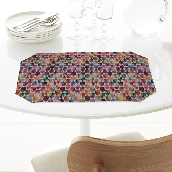 Hexagon Facets Placemats