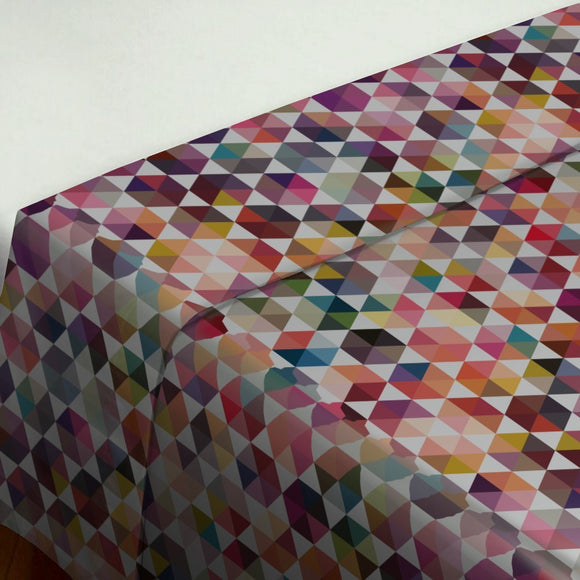 Hexagon Facets Flat Sheets