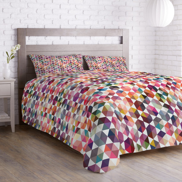 Hexagon Facets Duvet