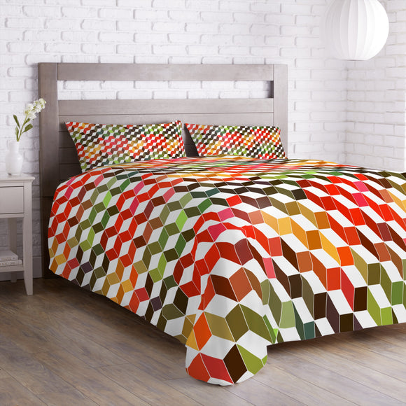 Zigzag Objects Duvet