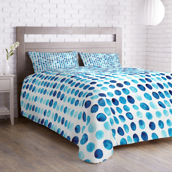 Watercolor Polkadot Duvet