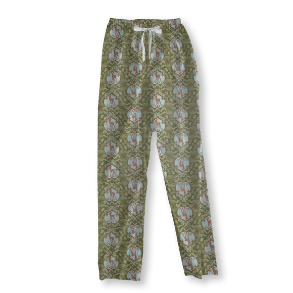 As The Birds Sang For The Fawn Pajama Pants